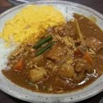 CoCo壱番屋 - 蒸し鶏と根菜の和風カレープラススクランブルエッグ