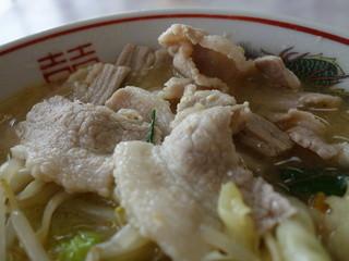 せせらぎ食堂 - 豚肉の量が・・・多すぎ~(^^;