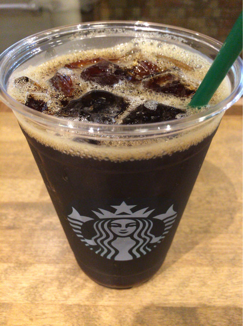 スターバックス・コーヒー 大阪マルビル店 - アイスコーヒー☆ヴェンティ