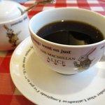 ラケル - モーニングセットのコーヒー!