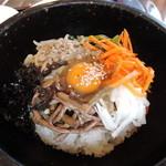炭火焼肉&韓国家庭料理 故郷 - 石焼ビビンパアップ