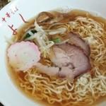 中華そば よし - 魚介(ちぢれ)620円