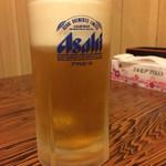 香林 - やっぱ生ビールでしょ!