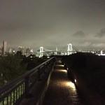 メインバー「キャプテンズバー」 - H27.8 レインボーブリッジ&東京タワー