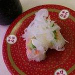 はま寿司 - エビアボカド寿司 100円