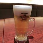健康中華庵 青蓮 - 生ビール529円