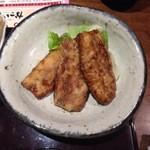 個室・炉端料理 かこいや - 秋刀魚蒲焼き