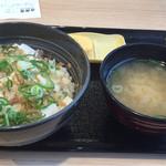 吉野家 - 豆腐ぶっかけ飯 290円