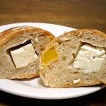 308 - マンゴーとクリームチーズ断面