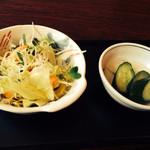 41490022 - サラダとお新香