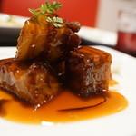 41491520 - バルサ味噌仕立てのヤワラカ黒酢豚