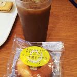 ベックスコーヒーショップ - 水出しコーヒー+ケーキ焼きドーナツ