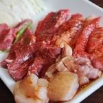 焼肉亭 ばりきや - ひとり焼肉ランチ1200円