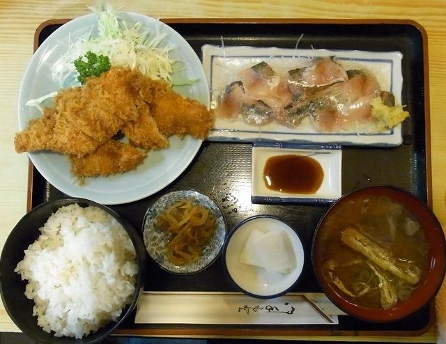 割烹 ゆず - 2点定食 950円