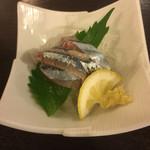 41494350 - 秋刀魚造り