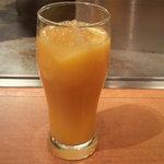 お好み焼 きじ - オレンジジュース(350円)