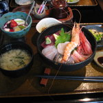 河童土器屋 - ランチ 上海鮮丼