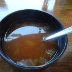 ミネラルダイニング アジュール - ヘルシープレートのスープ