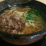 壱 - 料理写真:肉うどん[\500]