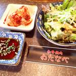 41504389 - サラダ 白菜キムチ タレは甘めのさっぱり目