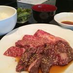清香園 - 焼肉ランチ1080円