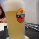 Trattoria La Padella - ヴェデットエクストラホワイト生ビール