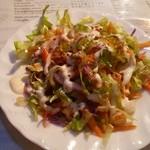 Ankara - セットのサラダ