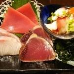 喜口屋 - 鮮魚刺盛り