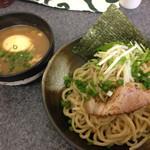 麺魂 - 「味玉一六つけそば(冷)」(2015.05)