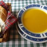 べるぱ - バケットとかぼちゃのスープ