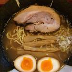 めん 和正 - 中華麺700円、味玉50円、のり50円