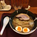 めん 和正 - 中華麺並 味玉 のりトッピング