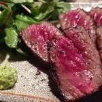 寿司 さいしょ - 熟成肉の先駆者格之進から仕入れるステーキ