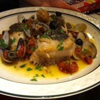 トラットリア リオコルノ - 鮮魚のアクアパッツァ