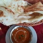 SHIVA - 料理写真:マトンカレーセット
