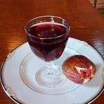 くつろーぐ -   自家製イチジクのワインゼリー