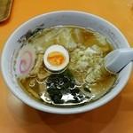 ラーメン金ちゃん - ワンタン麺