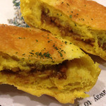HOKUO - チーズ&キーマカレーの断面