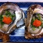 お魚sun - 料理写真:(今年の岩牡蠣は終了しました)富山産岩ガキ 冬の真ガキとはまた一味違いミルキーな味わいです。