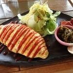GOOD FOOD - オムライスセット、チキンオムライス