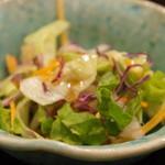 明石の魚処 さかづき - 野菜サラダ