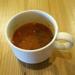 41518938 - ランチのスープ