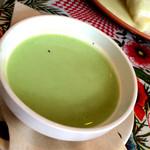 胃袋直撃食堂 ボッカ - セットのスープ