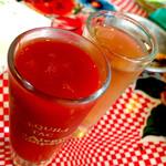 胃袋直撃食堂 ボッカ - テキーラ(600)トマトジュースがついてきます。