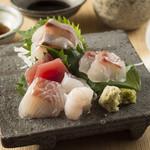 和味 大輔 - お刺身盛り合わせ~新鮮なお魚を日替わりでご用意しております~