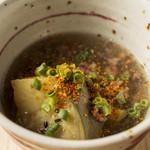 和味 大輔 - 賀茂茄子の肉そぼろ餡~食べ応えのある賀茂茄子を肉そぼろ餡で~