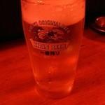 にわ・とりのすけ - ドリンク写真:生ビール
