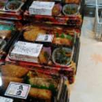 大夢里 - 魚沼産こしひかり弁当 買ったお弁当は写真取れなかったので売り場の写真