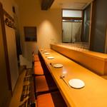 和味 大輔 - カウンターは6席ございます