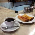 愛養 - コーヒー トースト